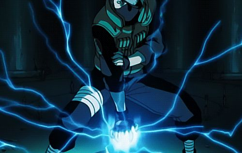 They call it a lightning blade because Kakashi once used ...