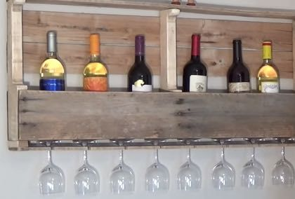 29 Rustic Diy Home Decor Ideas Pallet Wine Racks Pallet Wine And Wine Racks