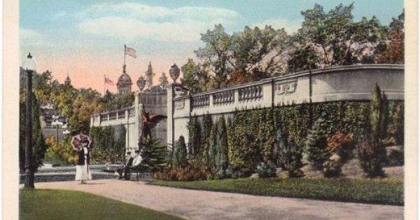 Trask Fountain Congress Park Saratoga Springs Ny Antique Postcard Saratoga Springs Saratoga Saratoga Springs New York