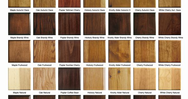 Impressive Wood Finish Colors Cabinet Stain Color