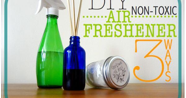 Diy all natural air freshener 3 ways air freshener for Baking soda essential oil air freshener