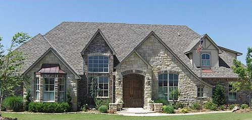 French Country Style House Plans 3140 Square Foot Home 1 Story
