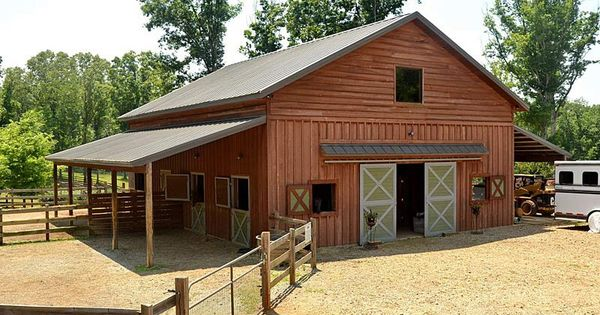 Barn Matches Home Towing A Horse Trailer Pinterest