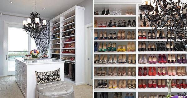 LA Closet Design | Collections | Walk-In Closets/ Now THESE are real