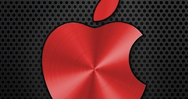 Red Cool Apple Logo Computers Pinterest Apple Logo