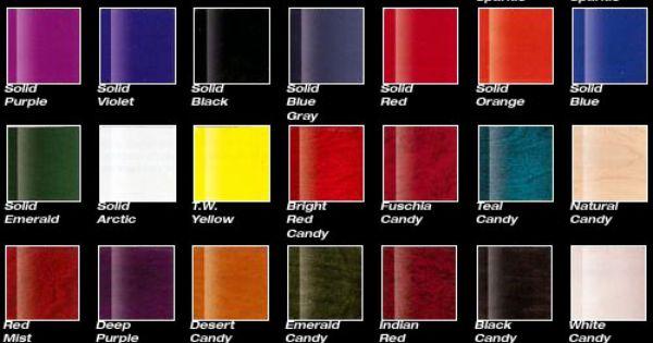PPG Colors... | Paint colors for 78 impala | Pinterest ...