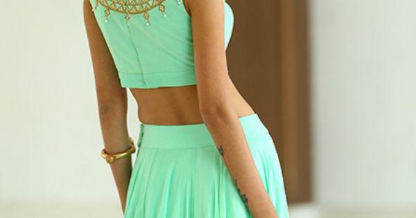 pastel lehenga and blouse by harshitaa chatterjee