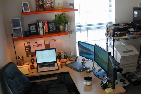 30 Enviously Cool Home Office Setups Home Office Setup Office