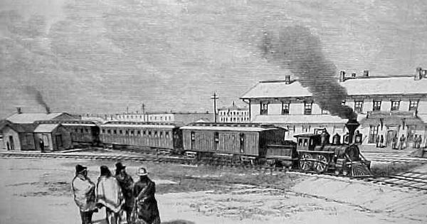 union pacific depot cheyenne 1877 httpwwwcheyenne