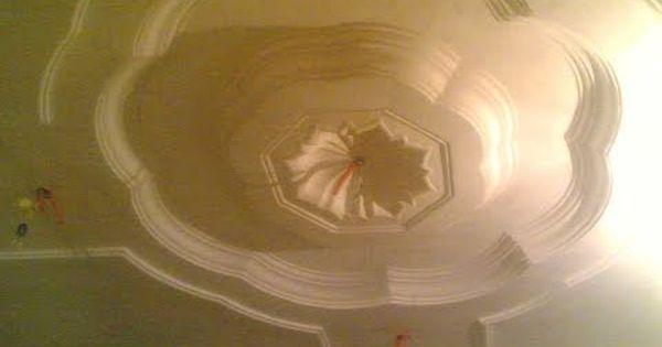 ديكورات جبس سقف معلق 6 Youtube Painting Decor Home Decor