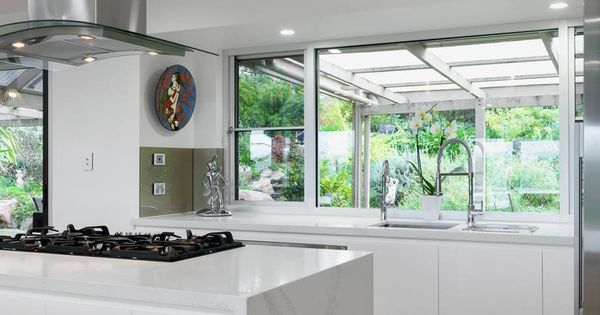Esta cocina de alby turner y su hijo con caesarstone for Alby turner kitchen designs