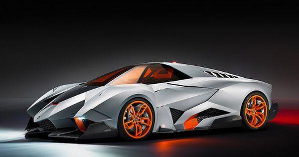 Lamborghini Egoista Concept Lamborghini Egoista Futuristic Cars Concept Cars