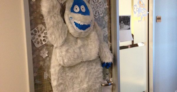 Abominable Snowman Complete With Reindeer Under His Feet