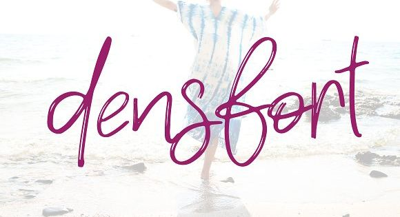 Densfort | stylish Handwritten Font
