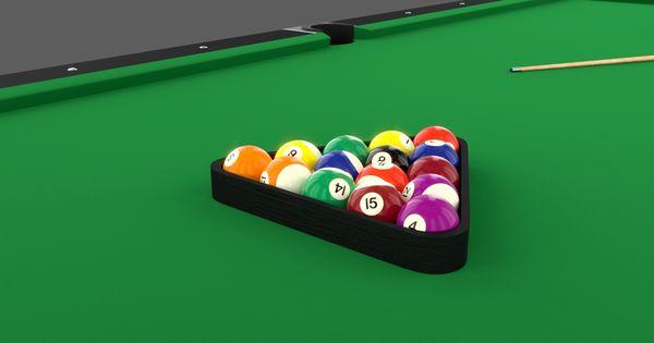8 Ball Pool Table Setting