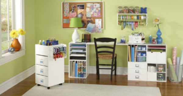 From Michael's: Craft Storage Ideas