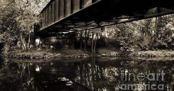 Vintage Train Trestle Washingtonville Ny Photography