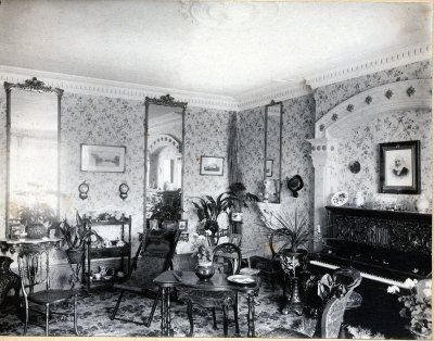 1900s Home Interiors House Design Plans Victorian Interior