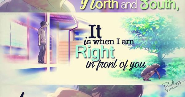 ... Anime Feel More | Anime Quotes | Pinterest | Norte, Love this and Love