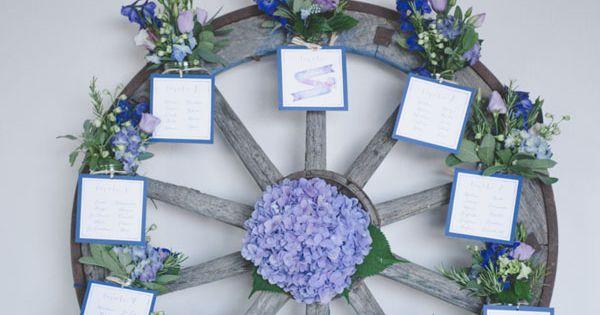 Matrimonio Viola E Azzurro : Azzurro e viola per un matrimonio country