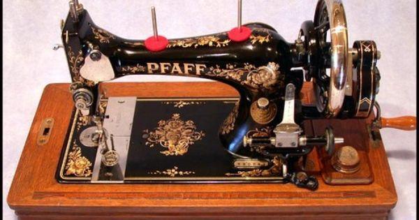 The Ultimate Pfaff Antique Hand Crank Sewing Machine
