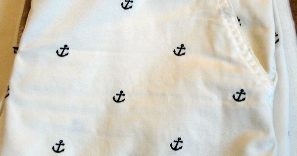 adorable anchor shorts. Just add a navy top. or black.or red, any