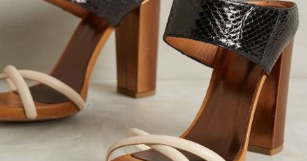 Hoss Intropia Estefania Heels - anthropologie.com #anthrofave | See more about Heels.