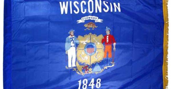 madison wisconsin flag