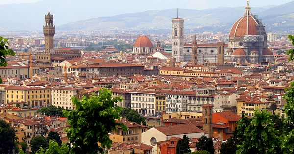 Florence, Italy. Gorgeous! Probably my favorite place of all!