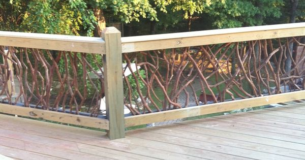 Rustic Deck Railings Wood View Deck Railing Http