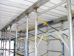 Quad Deck Insulated Concrete Forms For Floors Roofs And Tilt Up Insulated Concrete Forms Roof Construction Icf Concrete