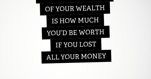 Real Worth quote