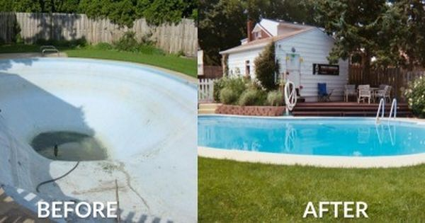 Sani tred concrete pool repair products outside pool for Pool resurfacing