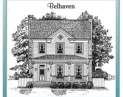 Farmhouse Belhaven 1979 Sq Ft Authentic Historical