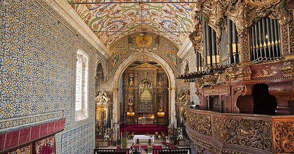 Universidade De Coimbra Biblioteca Joanina Capela De Sao Miguel