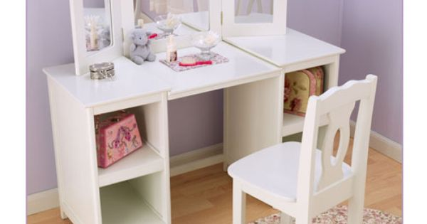 Childrens Vanity Set At Big Lots Deluxe Vanity Girls Decor I Love Pinterest Childrens