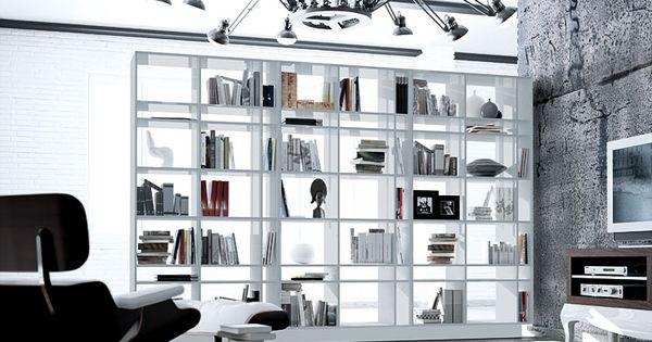 Biblioteca new bauhaus material madera de tilo existe la posibilidad de realizar el mueble en - Bauhaus estanterias de madera ...