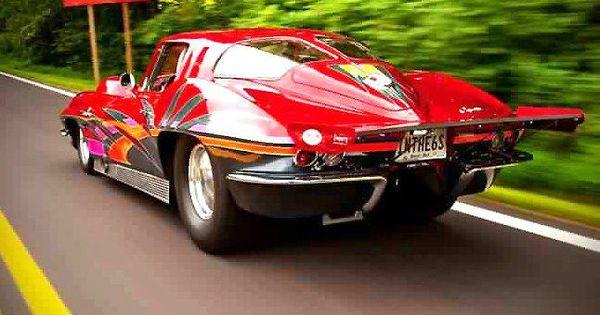 63 Corvette Sting Ray Custom Amp Cool Cars Pinterest