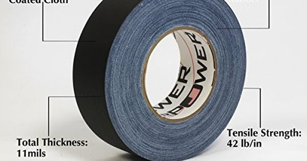 Real Professional Premium Grade Gaffer Tape By Gaffer Power