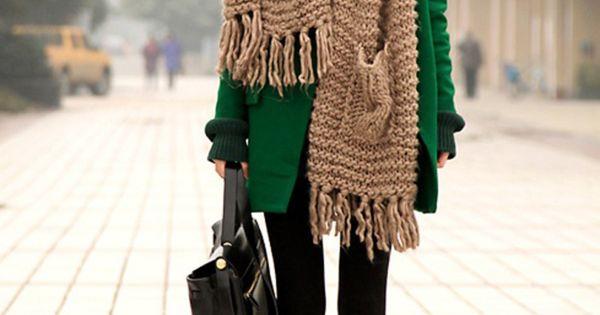 Big scarves- scarf addiction