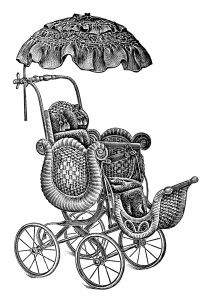Old Catalogue Page Vintage Baby Clip Art Antique Baby Stroller Image Free Black And White Clipart Pram S Clip Art Vintage Vintage Art Prints Baby Strollers