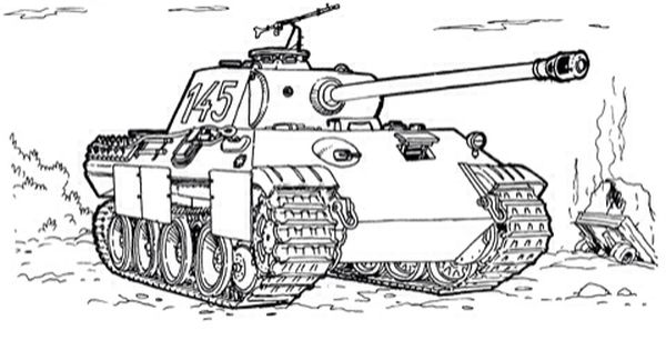 Drawing Tank Tank Drawing Coloring Pages Coloring Book Art