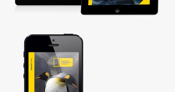 National Geographic Rebrand / Justin Marimon *** A complete rebranding of one