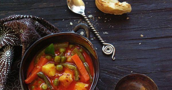 vegetable stew in coconut milk | Vegan Soups and Stews | Pinterest ...