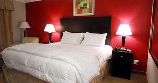 جميع درجات اللون الأحمر في دهان حوائط غرف النوم Interior Design Bedroom Bedroom Colors Relaxing Bedroom