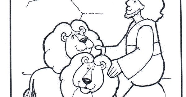 bible coloring pages lions - photo#20