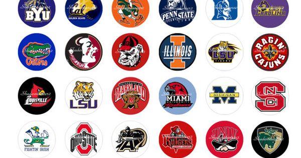 Juicy image inside printable college logos