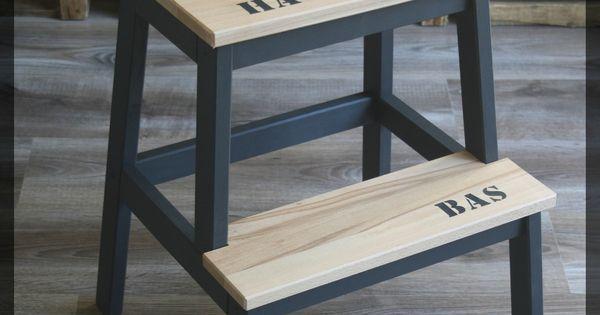 marche pied bekvam de chez ikea relook un atelier la campagne id es pour la maison. Black Bedroom Furniture Sets. Home Design Ideas