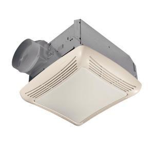 Nutone 50 Cfm Ceiling Bathroom Exhaust Fan With Light 763n Bathroom Exhaust Fan Bathroom Fan Light Bathroom Fan