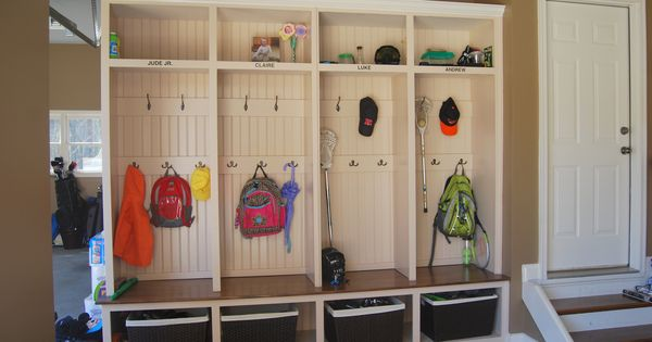 Image detail for -room in garage idea mud room in garage idea